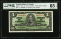 Canadian Currency, BC-21c $1 1937. ...