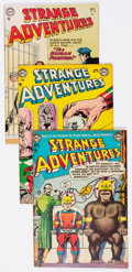 Golden Age (1938-1955):Science Fiction, Strange Adventures Group of 7 (DC, 1953-56) Condition: AverageVG.... (Total: 7 Comic Books)