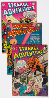 Strange Adventures Group of 21 (DC, 1953-56) Condition: Average FN.... (Total: 21 Comic Books)