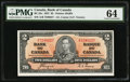 Canadian Currency, BC-22c $2 1937. ...