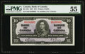 Canadian Currency, BC-24b $10 1937. ...