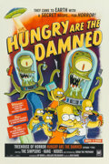 Fine Art - Work on Paper:Print, Bill Morrison (American, b. 1959). The Simpson's Hungry are theDamned, poster, 2002. Offset lithograph in colors on pap...