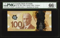 Canadian Currency, BC-73a $100 2011. ...