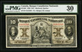 Canadian Currency, Montreal, PQ- Banque Canadienne Nationale $10 Feb. 1, 1929 Ch. #85-12-04.. ...