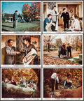 """Movie Posters:Hitchcock, The Trouble with Harry (Paramount, 1955). Color Photos (12) (8"""" X 10""""). Hitchcock.. ... (Total: 12 Items)"""