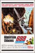 "Movie Posters:War, 633 Squadron (United Artists, 1964). One Sheet (27"" X 41"") DonaldE. Smith Artwork. War.. ..."
