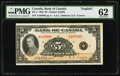 Canadian Currency, BC-5 $5 1935.. ...