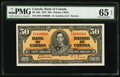 Canadian Currency, BC-26b $50 1937.. ...
