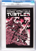 Modern Age (1980-Present):Alternative/Underground, Teenage Mutant Ninja Turtles #1 Third Printing (Mirage Studios,1985) CGC NM+ 9.6 White pages....