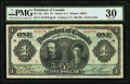 Canadian Currency, DC-18a $1 1911.. ...