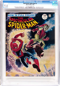 Spectacular Spider-Man #2 (Marvel, 1968) CGC NM+ 9.6 Off-white to white pages