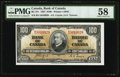 Canadian Currency, BC-27c $100 1937.. ...
