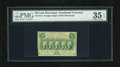 Fractional Currency:First Issue, Fr. 1312 50c First Issue PMG Very Fine 35EPQ. A pretty well margined example of this type note that has good color and excel...