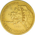 Alaska Tokens: , Nyac, Alaska, 1976 .999 Gold Medal. This is a one-ounce gold medallion struck in 1976 to commemorate the centennial of the S...