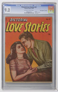 """Golden Age (1938-1955):Romance, Pictorial Love Stories #22 Davis Crippen (""""D"""" Copy) pedigree (Charlton, 1949) CGC NM- 9.2 Off-white to white pages...."""