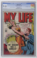 "Golden Age (1938-1955):Romance, My Life #6 Davis Crippen (""D"" Copy) pedigree (Fox FeaturesSyndicate, 1949) CGC VF/NM 9.0 Off-white to white pages...."