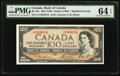 Canadian Currency, BC-43c $100 1954. ...