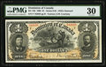 Canadian Currency, DC-13b $1 1898.. ...