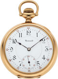 Timepieces:Pocket (post 1900), Howard, Ball Watch Co. Prototype Official RR Standard. ...
