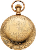Timepieces:Pocket (pre 1900) , Otay Watch Co. F.A. Kimball Case: gold filled ...