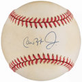 Autographs:Baseballs, Cal Ripken Jr. Single Signed Baseball.. ...