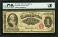 Large Size:Silver Certificates, Fr. 216 $1 1886 Silver Certificate PMG Very Fine 20.. ...