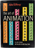 Animation Art:Limited Edition Cel, Walt Disney: The Art of Animation Signed Hardcover Book(Simon and Schuster, 1958) ...