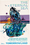 Animation Art:Poster, The Eternal Sea Tokyo Disneyland Display Poster (WaltDisney, 1983)....