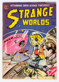 Golden Age (1938-1955):Science Fiction, Strange Worlds #18 (Avon, 1954) Condition: FN....