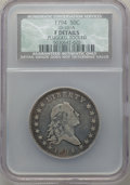 Early Half Dollars, 1794 50C O-101a, T-7, High R.3 -- Plugged, Tooled -- NCS. FineDetails....