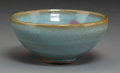 Asian:Chinese, A Chinese Junyao Porcelain Bowl. 2 inches high x 4-3/8 inchesdiameter (5.1 x 11.1 cm). ...