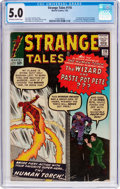 Silver Age (1956-1969):Superhero, Strange Tales #110 (Marvel, 1963) CGC VG/FN 5.0 Off-white to white pages....