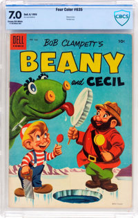Four Color #635 Beany and Cecil (Dell, 1955) CBCS FN/VF 7.0 Cream to off-white pages