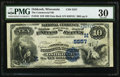 National Bank Notes:Wisconsin, Oshkosh, WI - $10 1882 Date Back Fr. 545 The Commercial NB Ch. # (M)5557. ...