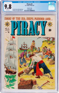 Golden Age (1938-1955):Adventure, Piracy #2 Gaines File Pedigree 8/12 (EC, 1955) CGC NM/MT 9.8 White pages....