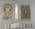 Asian:Chinese, Four Chinese Silver and Silver-Plated Items, circa 1900. Marks tobelt: (CW-character). Marks to page turner: (LW-character)...(Total: 4 Items)