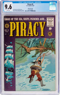 Golden Age (1938-1955):Adventure, Piracy #5 Gaines File Pedigree 8/12 (EC, 1955) CGC NM+ 9.6 White pages....