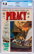 Golden Age (1938-1955):Adventure, Piracy #3 Gaines File Pedigree 8/12 (EC, 1955) CGC NM/MT 9.8 Off-white to white pages....