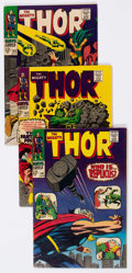 Silver Age (1956-1969):Superhero, Thor Group of 28 (Marvel, 1967-69) Condition: Average FN-.... (Total: 28 Comic Books)