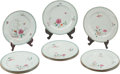 Asian:Chinese, Twelve Chinese Famille Rose Porcelain Export Plates. 9 inchesdiameter (22.8 cm)... (Total: 12 Items)