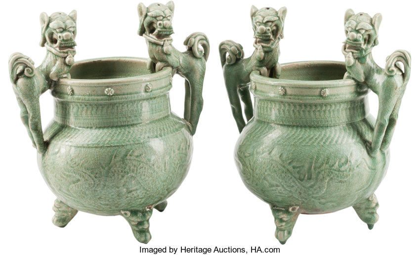 A Pair Of Chinese Celadon Glazed Tripod Censers 13 Inches High 33 Lot 78606 Heritage Auctions Easily convert inches to centimeters, with formula, conversion chart, auto conversion to common lengths, more. a pair of chinese celadon glazed tripod censers 13 inches high 33 lot 78606 heritage auctions