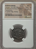Ancients:Ancient Lots  , Ancients: ANCIENT LOTS. Roman Imperial. Licinius I (AD 308-324).Lot of two (2) BI folles or reduced nummi. NGC XF-AU.... (Total: 2coins)