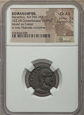 Ancients:Ancient Lots , Ancients: ANCIENT LOTS. Roman Imperial. Ca. AD 350-354. Lot of two(2) BI centenionales or AE2. NGC Choice XF-Choice AU....(Total: 2 coins)
