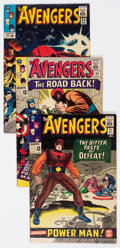 Silver Age (1956-1969):Superhero, The Avengers Group of 9 (Marvel, 1965) Condition: Average FN+.... (Total: 9 Comic Books)