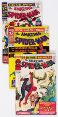 Silver Age (1956-1969):Superhero, The Amazing Spider-Man Annual #1-5 Group (Marvel, 1964-68) Condition: Average VG.... (Total: 5 Comic Books)