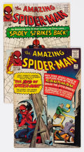 Silver Age (1956-1969):Superhero, The Amazing Spider-Man #18 and 19 Group (Marvel, 1964) Condition: Average VG+.... (Total: 2 Comic Books)