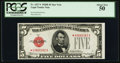 Small Size:Legal Tender Notes, Fr. 1527* $5 1928B Legal Tender Note. PCGS About New 50.. ...