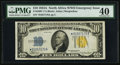 Small Size:World War II Emergency Notes, Fr. 2309* $10 1934A North Africa Silver Certificate. PMG Extremely Fine 40.. ...