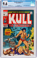 Bronze Age (1970-1979):Miscellaneous, Kull the Conqueror #1 (Marvel, 1971) CGC NM+ 9.6 Off-white to whitepages....