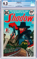 Bronze Age (1970-1979):Miscellaneous, The Shadow #1 (DC, 1973) CGC NM- 9.2 Off-white to white pages....